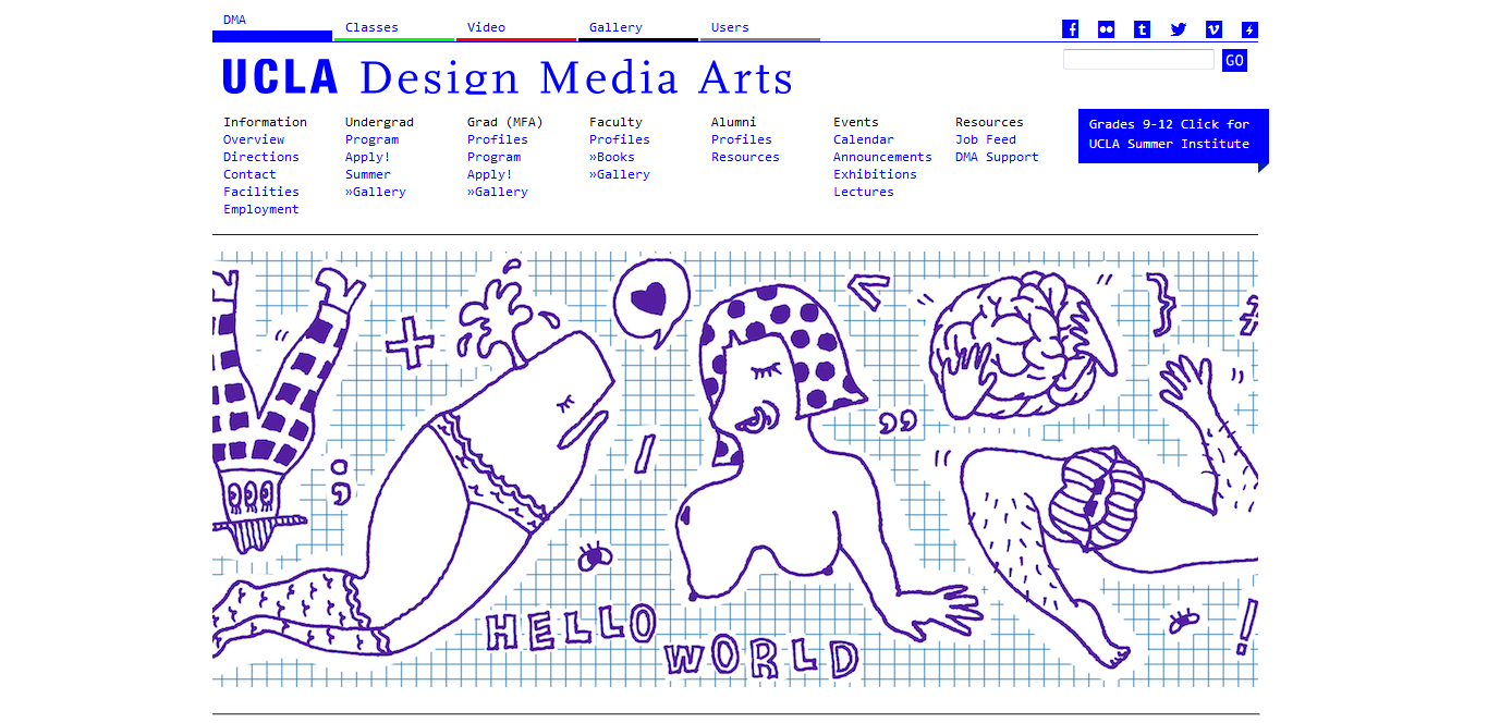 Screenshot 2018 08 16 UCLA Design Media Arts - The Best 8 Graphic Design Schools to Get a Degree In