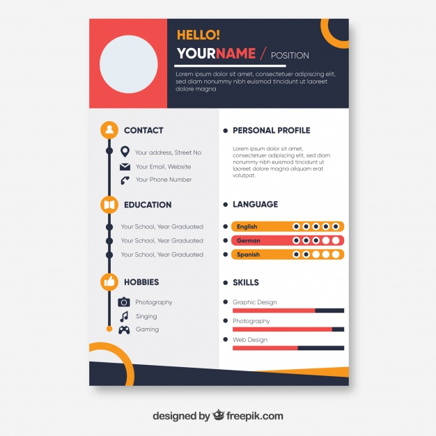 colorful resume template 23 2147857101 - David Carson - Meet the Typography Revolutionist who Changed Design inside the United States